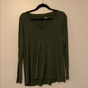 Hollister | Green Long Sleeve